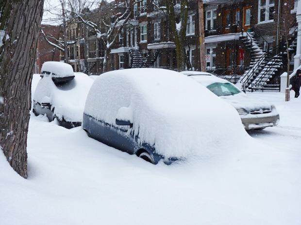 Tempête neige décembre 2013