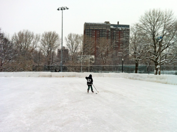 Parc Lafontaine hockey