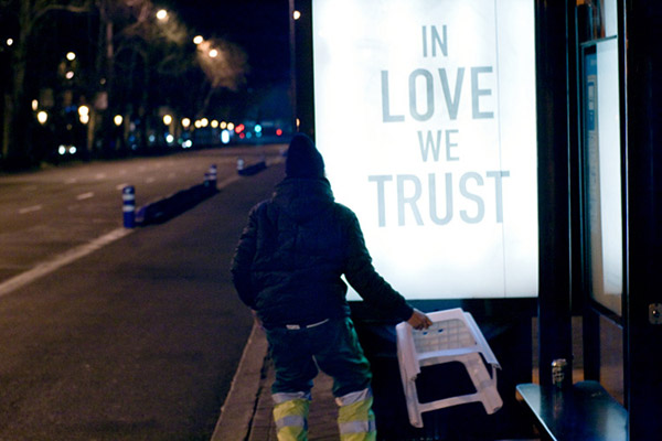 Madrid Street Advertising Takeover