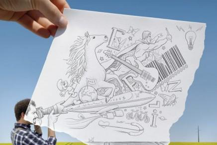 Ben Heine redessine le paysage