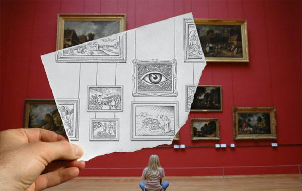 Ben Heine - Pencil Vs Camera