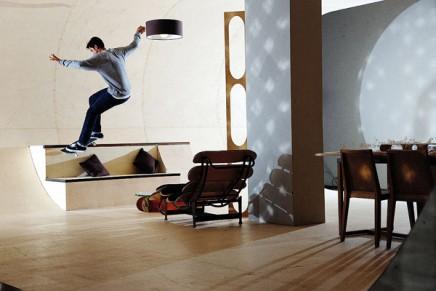 PAS HOUSE, le skate dans le salon