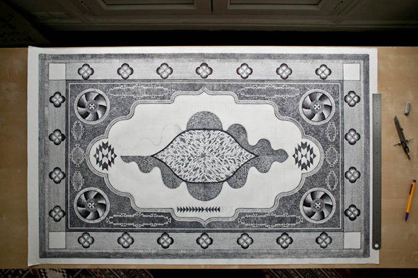Jonathan Brechignac Praying Carpet