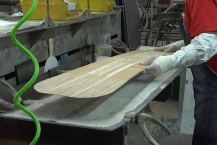 Burton Manufacturing Center: la fabrication d'un Snowboard