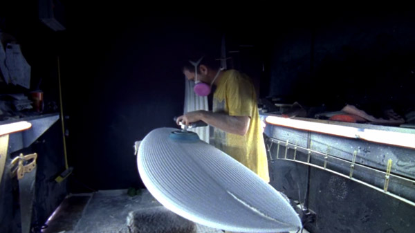 Sanded Fabrication de surf