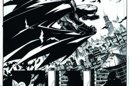 L'encrage de comic par Jonathan Glapion