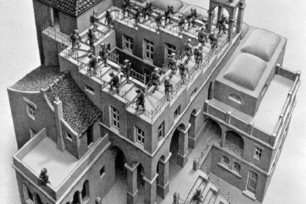 Les figures impossibles de M.C. Escher