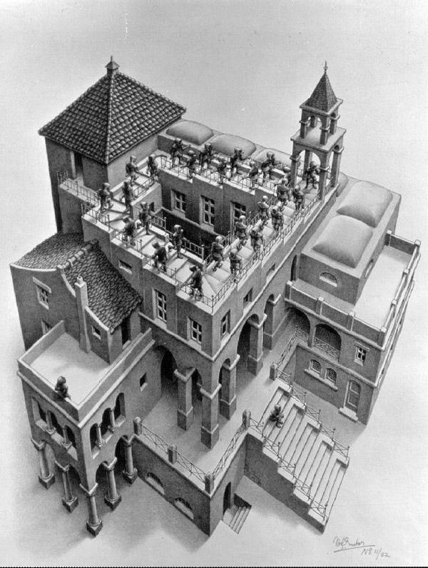 Les Figures Impossibles De M C Escher