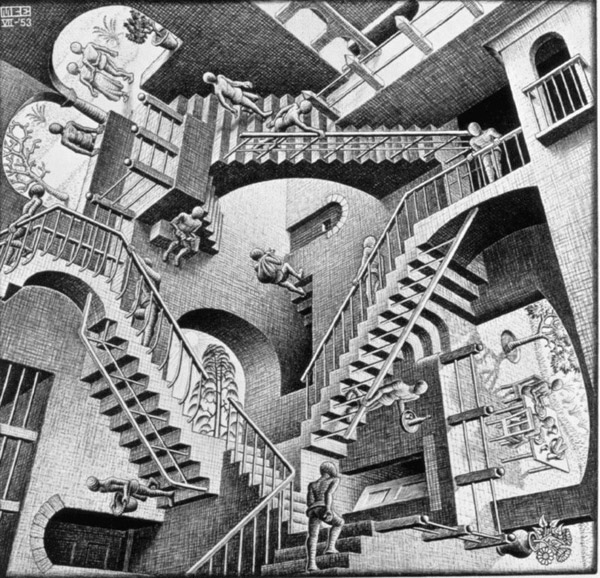 MC ESCHER Les figures impossibles