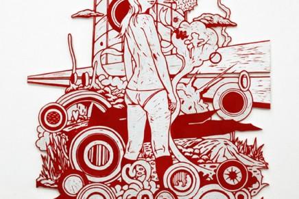 Kenichi Yokono, la vie en rouge
