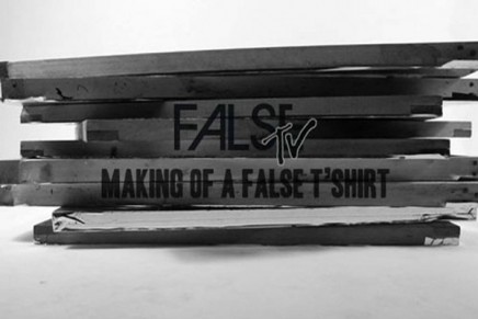 Making of a FALSE T'shirt