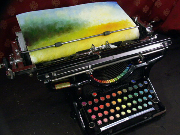 Tyree Callahan Chromatic Typewriter