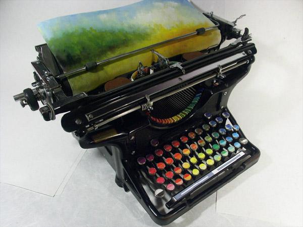 Tyree Callahan Chromatic Typewriter