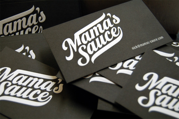 Hard pressed Mama's Sauce