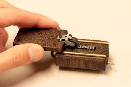 Une imprimerie de poche par Ishac Bertran
