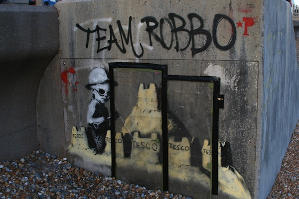 Banksy vs Robbo