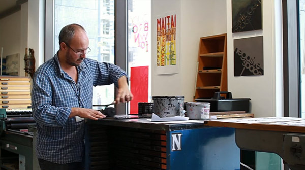 Upside Down, Left To Right: A Letterpress Film