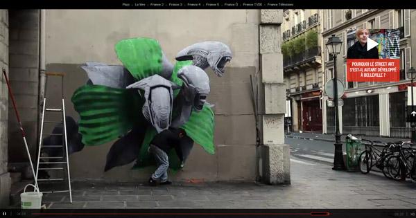 Défense d'afficher Webdoc France tv
