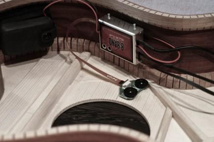 Processus de fabrication d'une guitare acoustique