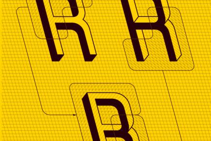 Frustro, la typographie inspirée du triangle impossible