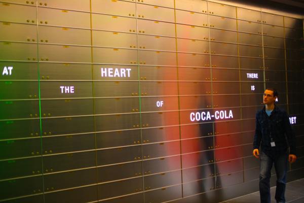 Vault of the Secret Formula Coca Cola