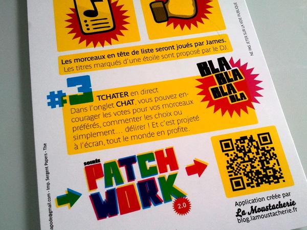 Soirée Patchwork 2.0 Connexion Café La Moustacherie