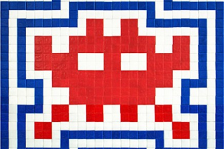 In bed with Invader