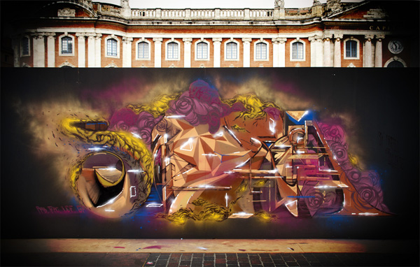 Graffiti jam Toulouse 2012