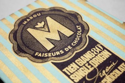 Design et impression de packaging pour Marou, faiseurs de chocolat