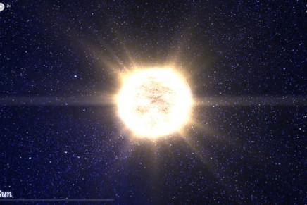 100,000 stars : Google nous montre l'univers