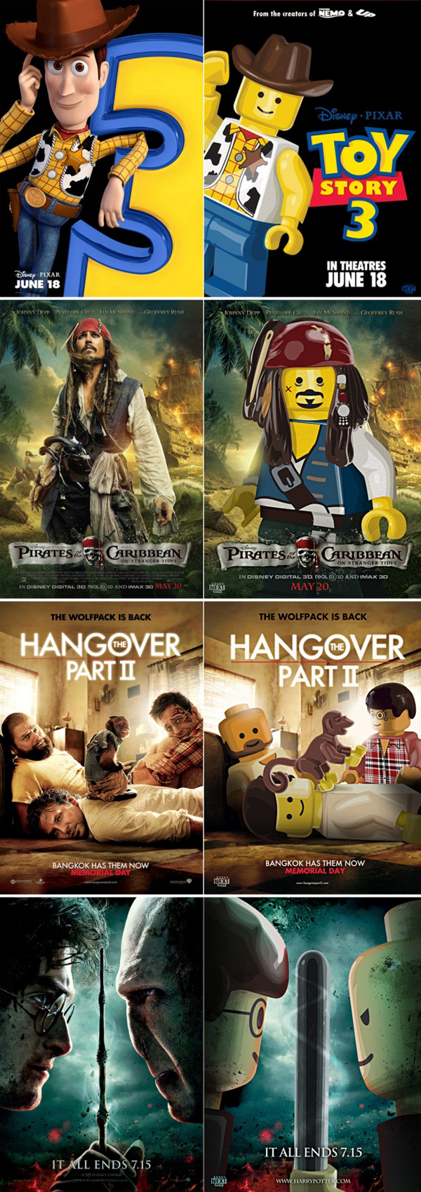 Lego movies posters