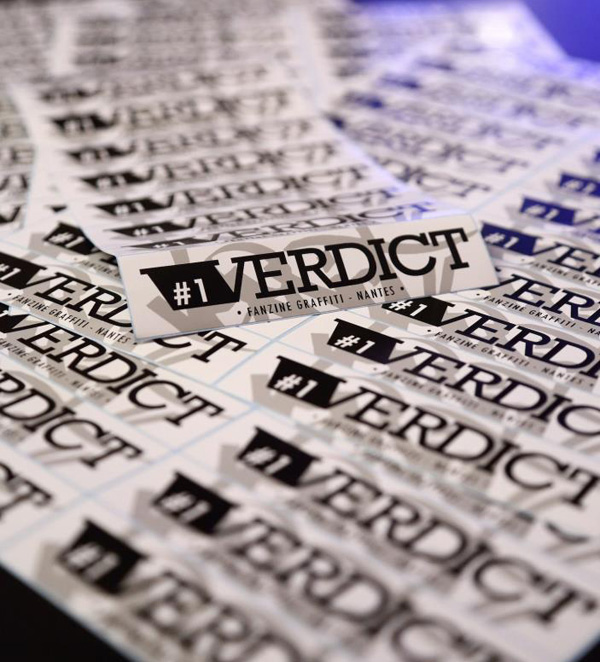 Fanzine Verdict Nantes