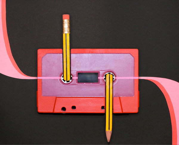 Benoit Jammes Tape art