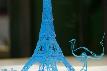 The 3Doodler, un stylo en 3D