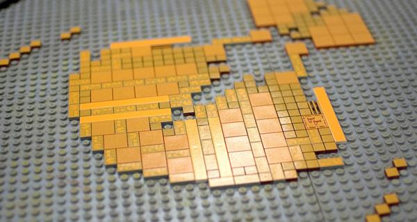 Physical fiction Lego & Letterpress