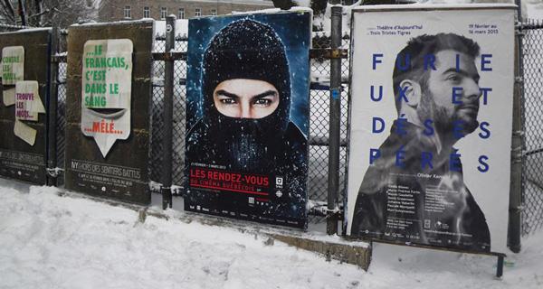 Publicité Sauvage Montréal