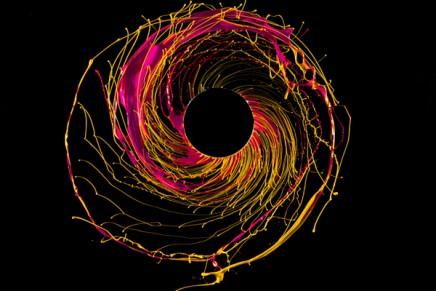 Black Hole, la peinture en mouvement