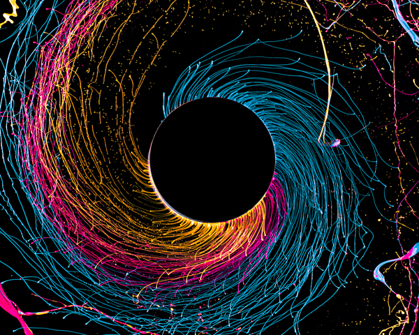 Fabian Oefner - Black Hole