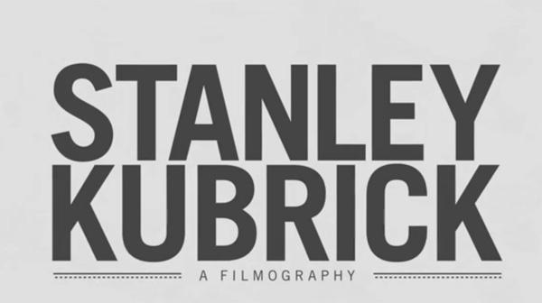 STANLEY KUBRICK A FILMOGRAPHY