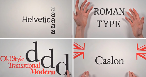 The hystory of typography