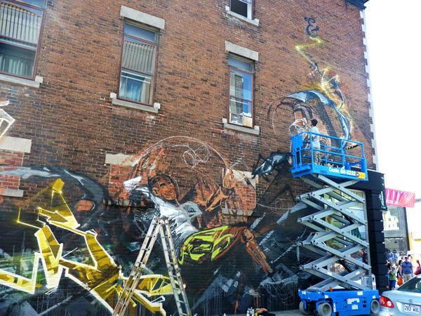 Festival Mural Montréal