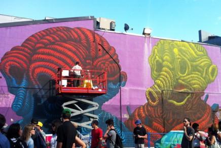 Une journée au Festival Mural à Montréal