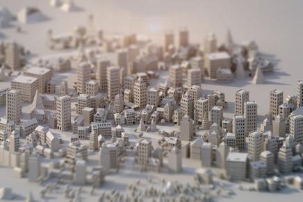 Une ville en papier