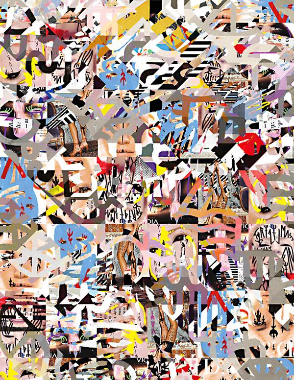 Les collages de Madame Gilles