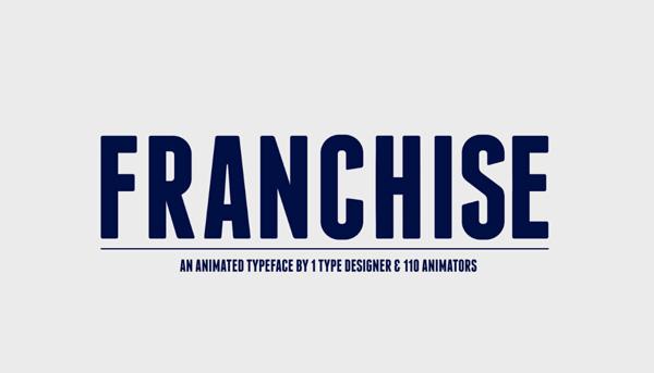Franchise Free font download