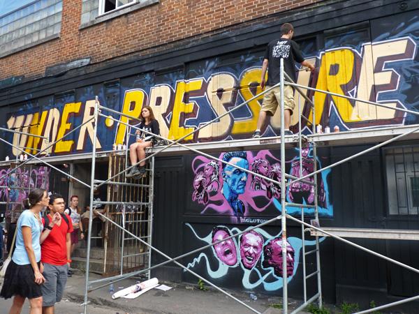 Festival Under Pressure 2013 Montreal