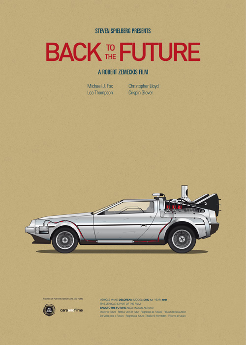Cars And Films Retour vers le futur