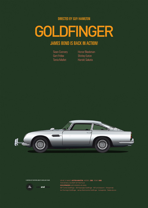 Cars And Films Golfinger