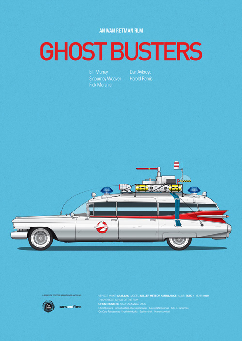 Cars And Films Ghost busters