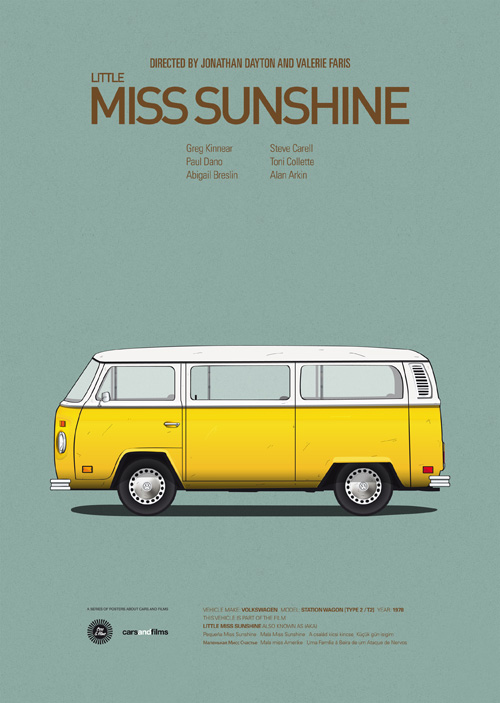 Cars And Films Little Miss Sunshine
